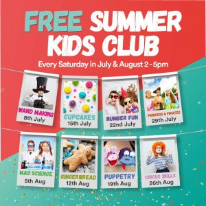 Free Summer Kids Club Sligo