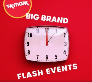 TK Maxx flash sales