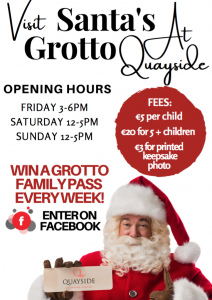 Santa's Grotto at Quayside