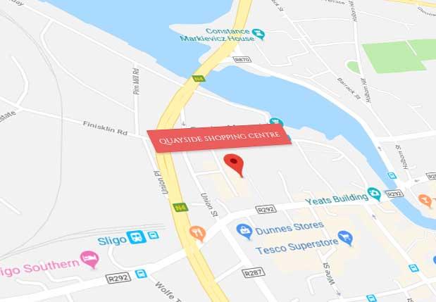Quayside map