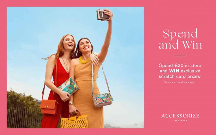 Accessorize - spend and win