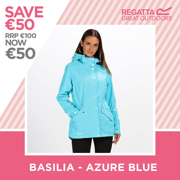 Regatta - save €50 - Basilia Azure Blue