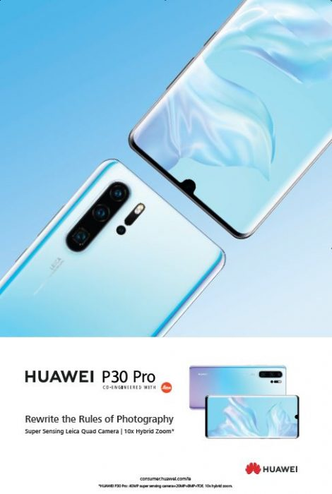 Huawei P30 - rewrite the rules of photography