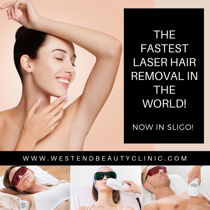 Laser hair removal sligo