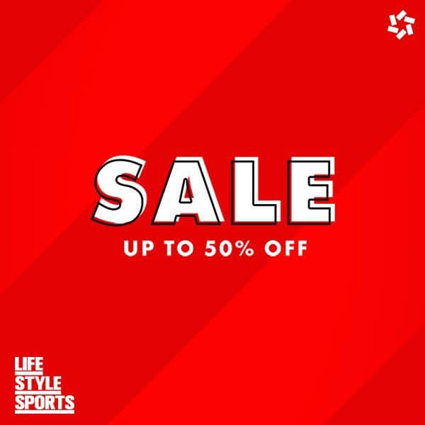 Sale. Up to 50% off.