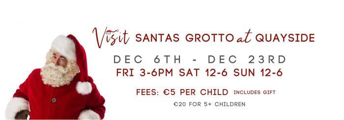 Visit Santa's grotto at Quayside