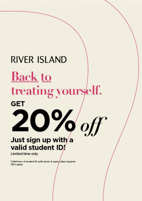 River Island Student Discount