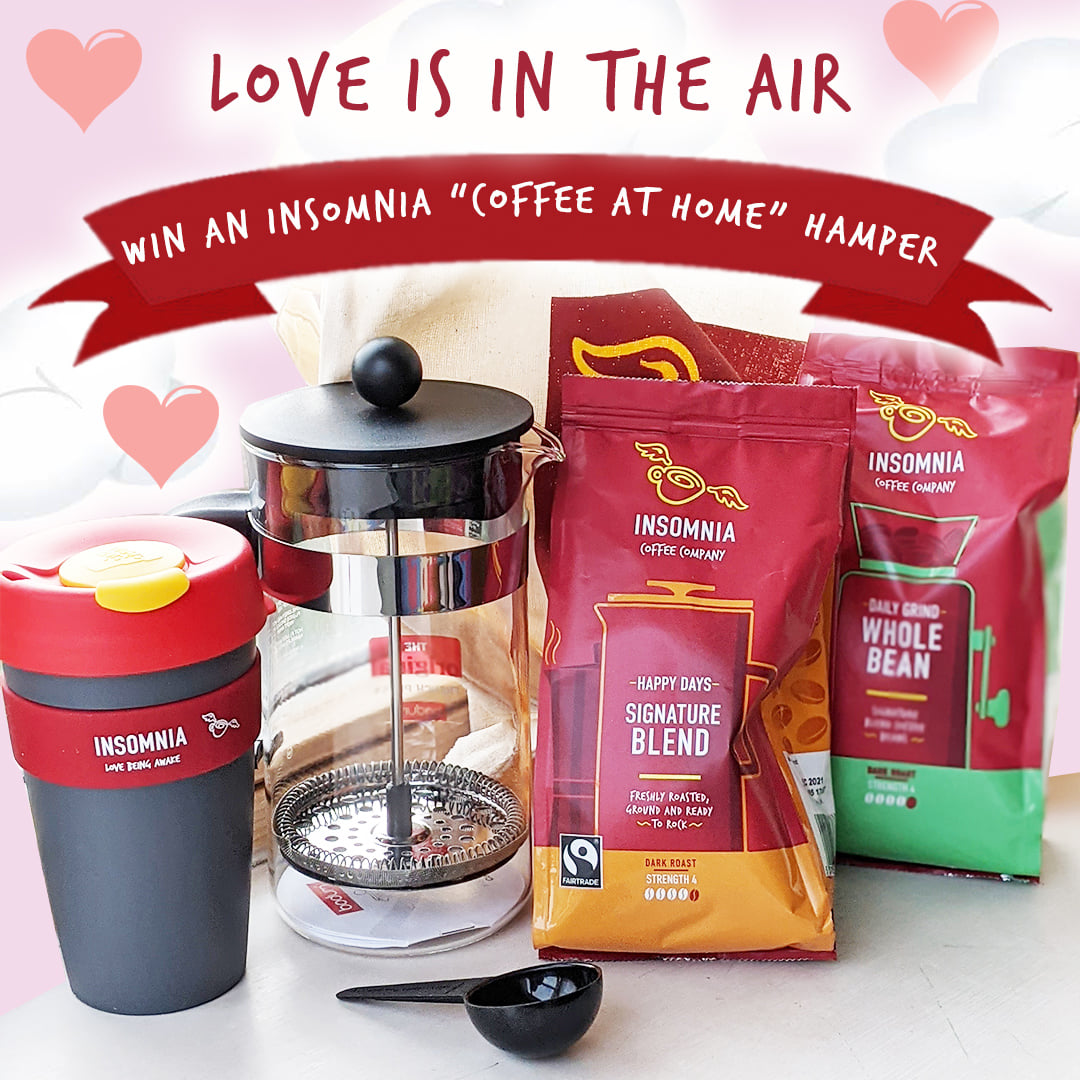 Insomnia Coffee Hamper Valentines